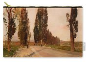 Boulevard Of Poplars Near Plankenberg Carry-all Pouch
