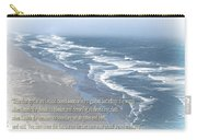 Boundaries Of Beaches Carry-all Pouch