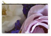Roses And Violets  Carry-all Pouch