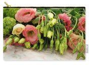 Bouquet In The Making Carry-all Pouch by Lainie Wrightson