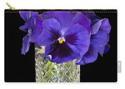 Bouquet Of Flowers Pansies Carry-all Pouch