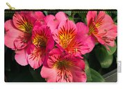 Bouquet Of Pink Lily Flowers Carry-all Pouch