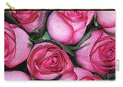 Bouquet Of Pink Roses Carry-all Pouch