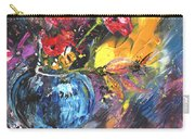 Bouquet With Black Tulip Carry-all Pouch