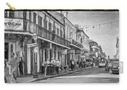 Bourbon Street Afternoon - Paint Bw Carry-all Pouch
