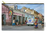 Bourbon Street - Let The Party Begin Carry-all Pouch