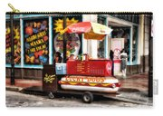 Bourbon Street Lucky Dog Carry-all Pouch by Bill Cannon