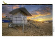 Bournemouth Beach Sunrise Carry-all Pouch