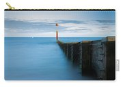 Bournemouth Groyne At Sundown Carry-all Pouch