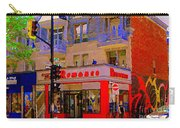 Boutique Erotique Romance Mont Royal The Love You Make Is Equal To The Love You Take City Scene Art Carry-all Pouch