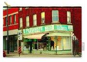 Boutique Fleuriste Coin Vert St Henri Flower Shop Notre Dame Montreal Urban Scenes Carole Spandau  Carry-all Pouch