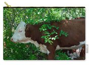 Bovine In The Shade Carry-all Pouch