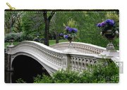 Bow Bridge Flower Pots - Central Park N Y C Carry-all Pouch