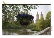 Bow Bridge Flowerpot And San Remo Nyc Carry-all Pouch