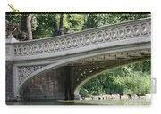 Bow Bridge Texture - Nyc Carry-all Pouch