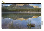 Bow Range And Herbert Lake Banff Carry-all Pouch