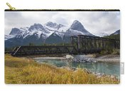 Bow River Railroad Trestle Carry-all Pouch