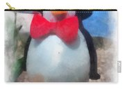 Bow Tie Penguin Photo Art Carry-all Pouch