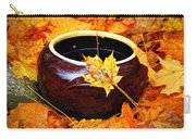 Bowl And Leaves Carry-all Pouch