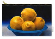 Bowl Of Lemons Carry-all Pouch