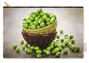 Bowl Of Peas Carry-all Pouch by Elena Elisseeva