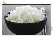Bowl Of Rice With Chopsticks Carry-all Pouch
