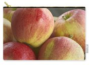Bowl Of Royal Gala Apples Carry-all Pouch