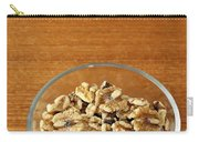 Bowl Of Shelled Walnuts Carry-all Pouch