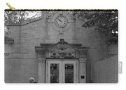 Bowling Green Subway Time In Black And White Carry-all Pouch