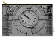Bowling Green Time In Black And White Carry-all Pouch