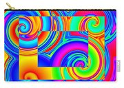 Boxed Rainbow Swirls 1 Carry-all Pouch