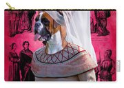 Boxer Art Canvas Print Carry-all Pouch