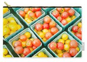Boxes Of Cherry Tomatoes On Display Carry-all Pouch