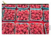 Boxes Of Fresh Red Raspberries Carry-all Pouch