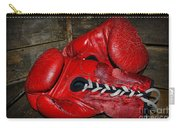 Boxing Gloves Carry-all Pouch by Paul Ward