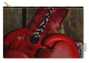 Boxing Gloves Worn Out Carry-all Pouch by Paul Ward