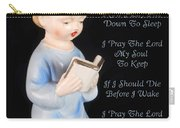 Boy Childs Bedtime Prayer Carry-all Pouch