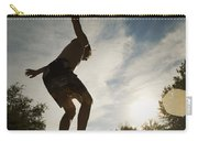 Boy Jumping Off Diving Board Carry-all Pouch