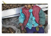 Boy With Grapes - Cusco Market Carry-all Pouch