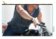 Actor - Brad Pitt On His Harley Carry-all Pouch