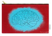 Brain Blue Carry-all Pouch