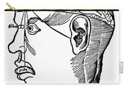 Brain Diagram, 1503 Carry-all Pouch