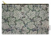 Bramble Wallpaper Design Carry-all Pouch by Kate Faulkner