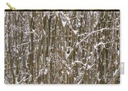 Branches And Twigs Covered In Fresh Snow Carry-all Pouch