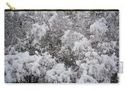 Branches Of Snow Carry-all Pouch