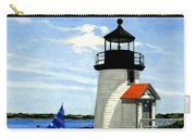 Brant Point Lighthouse Nantucket Massachusetts Carry-all Pouch
