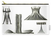 Brasilia Landmarks Carry-all Pouch