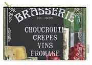 Brasserie Paris Carry-all Pouch by Debbie DeWitt