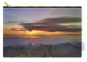 Brasstown Bald At Sunset Carry-all Pouch