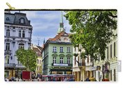 Bratislava Town Square Carry-all Pouch by Jon Berghoff